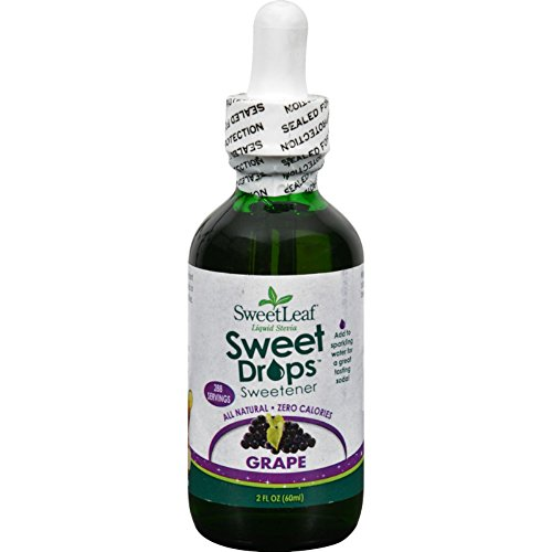 Sweetleaf Stevia Stevia Liq Grape