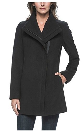 andrew-marc-ladies-black-jacket-with-zippered-front-and-lining-large