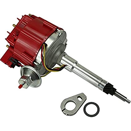 Dragon Fire High Performance Race Series Complete HEI Electronic Ignition  Distributor Compatible Replacement For Chevrolet Chevy Inline 6 Cyl V6 194