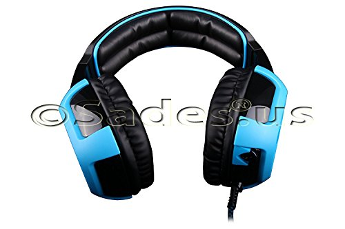 Sades Shaker Wired 7.1 Stereo Gaming Headset with Removable Noise Cancelling ()