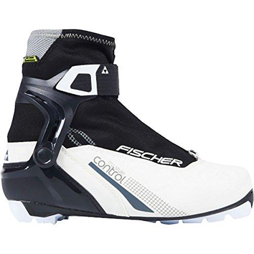 FISCHER Women's XC Control My Style NNN Ski Boots, 2017 White/Black 38 Fischer Ski Equipment