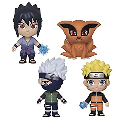 5 Star: Naruto Shippuden Collectible Vinyl Figure Bunde (4 items): Toys & Games