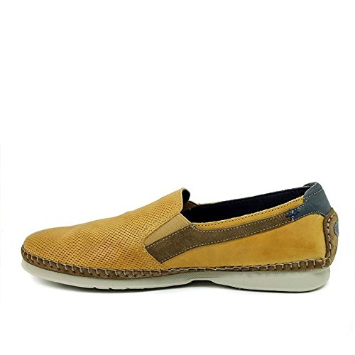 Fluchos De Amarillo Piel Zapato Surf F0198 Mostaza q7x0SwS4
