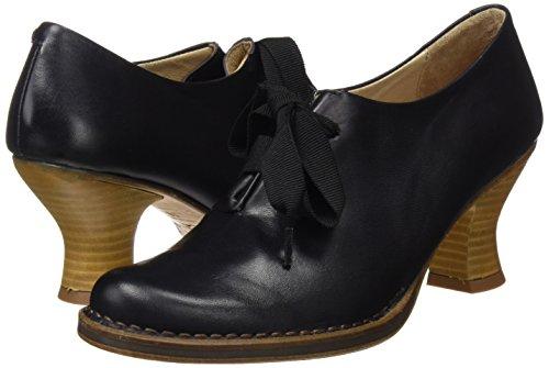 De Punta Negro Restored Cerrada rococo Tacón Skin ebony Para Mujer Zapatos Con Neosens Ebony S833 nUwqzCYF
