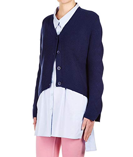 Cotone 191mp309200394 Twin Cardigan Donna Blu set xvTzqw8