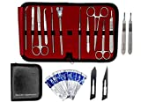 Dissection Kit 22 Pieces - Frog Dissection Kit, Pig Dissection Kit, for All Anatomy and Biology Medical Students by Beyonder Industries LLC