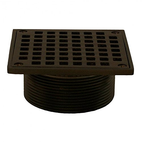 Jones Stephens Oil Rubbed Bronze 3-1/2 Metal Spud with 5 Square Strainer