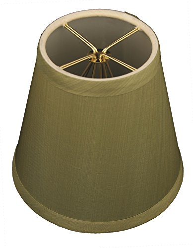 Royal Designs CS-1007-5L/GRN Clip On Empire Chandelier Lamp Shade, 3
