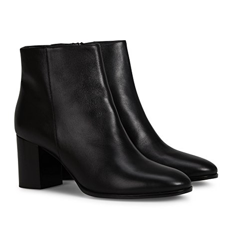 b4ballerinas Black Leather Ankle Boots