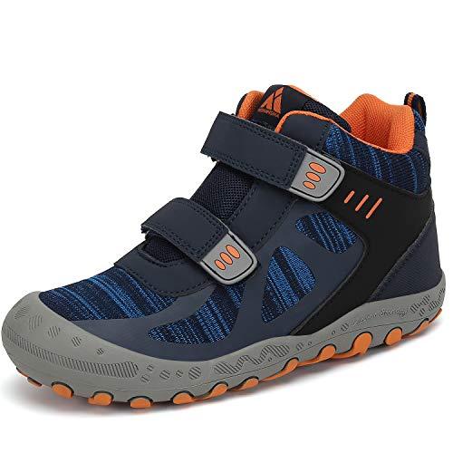 Mishansha Chaussures de Randonnée pour Enfants Garçon Bottes de Fille Marche de Trekking Sport de Plein Air 1