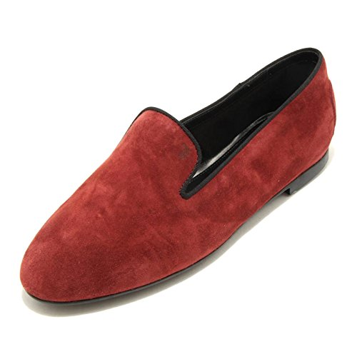 Rosso shoes donna loafer women mocassino scarpa Bordeaux TOD'S 1679G xqOn0gBn