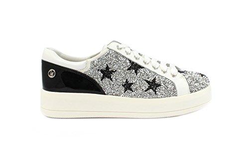 Liu silver Jo A8448 Sneaker Haidi Bianco rwrPIqZ