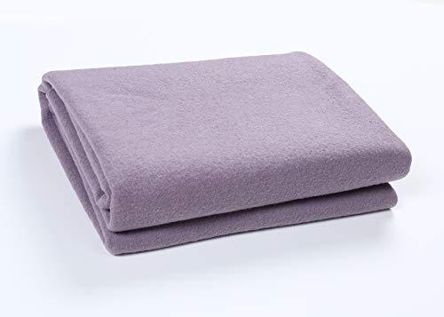 Australia Blanket - PuTian Home – 100% Merino Wool Blanket-Lavender Purple-51