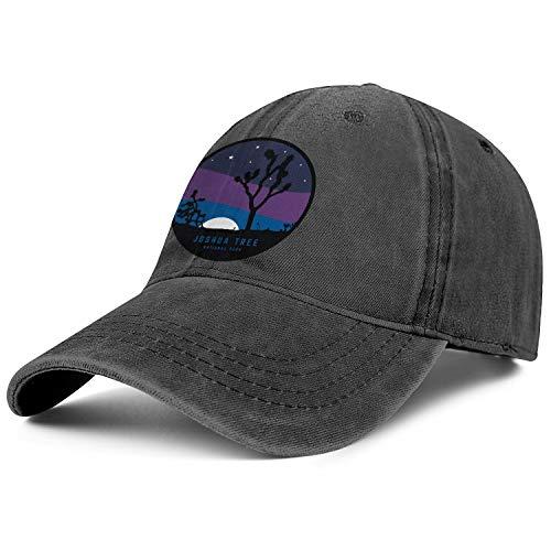 Unisex Men Adjustable Joshua Tree National Park Baseball Caps Outdoor Father.Leisure Hats