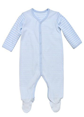 Under the Nile Organic Cotton Snap Front Baby Footie