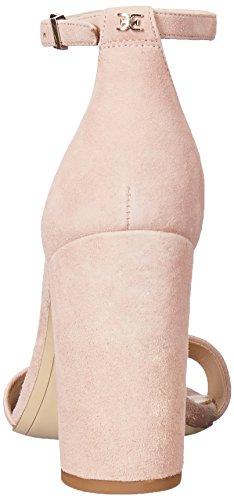 Women's Heeled Pink Sandal Yaro Edelman Seashell Suede Sam POqvwz5t