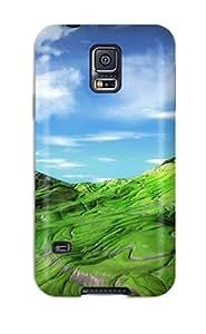 Case Cover Deidara's Shop Best New Design Shatterproof Case For Galaxy S5 (scenic Earth Nature Scenic) 3584046K88006220