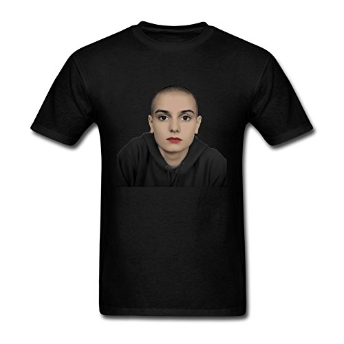 JUXING Mens Sinead O'Connor T-shirt Size L ColorName