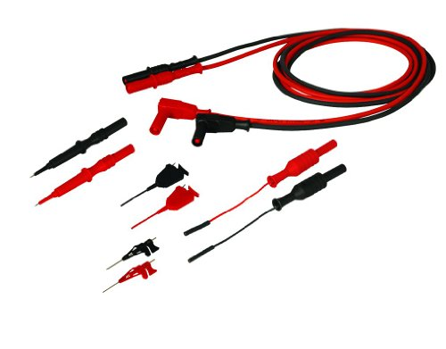 Deluxe Multimeter Kit (Cal Test Electronics CT2970 Digital Multimeter Probe Accessory Kit with PVC Pouch for Deluxe Surface Mount)