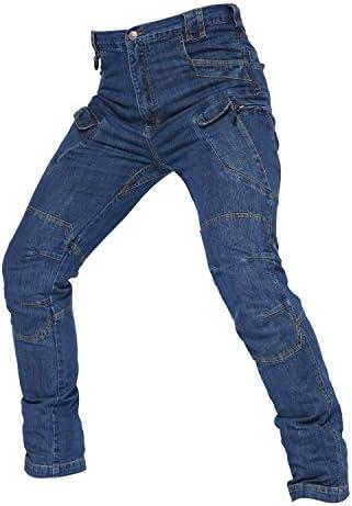 (上海物語)Shanghai Story アウトドア ミリタリー タクティカル ジーパン 軍用 メンズ ストレッチ パンツ スリム 細身 カジュアル ジーンズ デニム パンツ