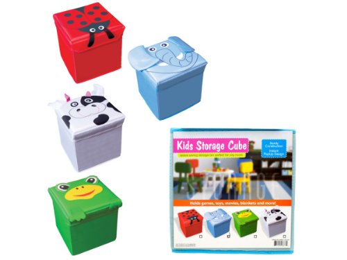 Kids Fabric Storage Cube, Case of 16