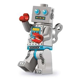 LEGO Minifiguras Coleccionables: Reloj Del Robot Minifigura (Serie Six)