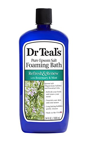 (Dr Teal's Foaming Bath, Rosemary and Mint, 34 Ounce)