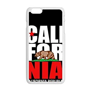 california republic t shirt Phone Case for iPhone plus 6 Case