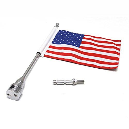 Sedeta US flag Motorcycle Pole Mount holder For Harley Davidson XL883 XL1200 Motorcycle Pole Mount holder For Harley Davidson XL883 XL1200