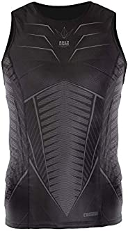 Bunkerkings Fly Compression Lightweight Sleeveless Top/Chest Protector - Black