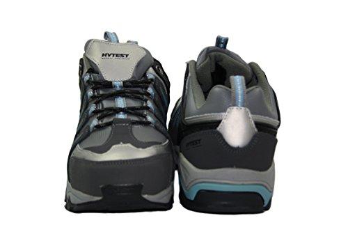 Hytest Women's Internal Metguard Electrical Hazard,Non-Slip Steel-Toe Athletic Safety Shoe (5W US, Blue) by Wolverine (Image #2)