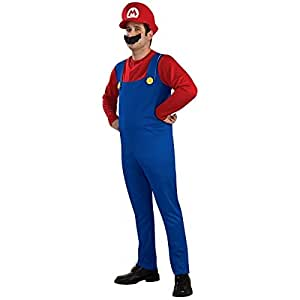 Super Mario! Anta also Mario Cosplay Costume T-shirt / pants / hat / beard from today (japan import)