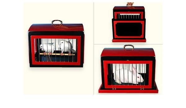 Transformación de jaula de palomas en jaula de conejo: Amazon.es ...
