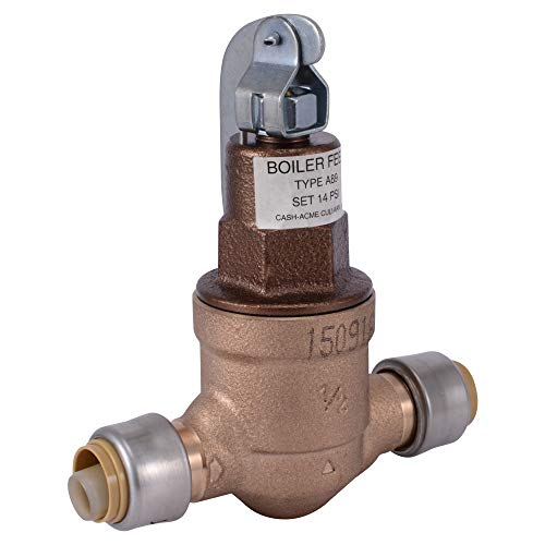 SharkBite 25521Z Boiler Feed Valve, Brass