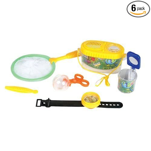 Rhode Adventure Planet Bug Catcher, 6-Piece Box Set