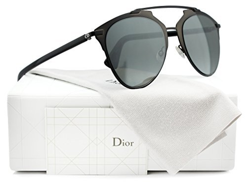 9eda35ea903f Christian Dior Reflected S Sunglasses Shiny Black w Grey - Import It All