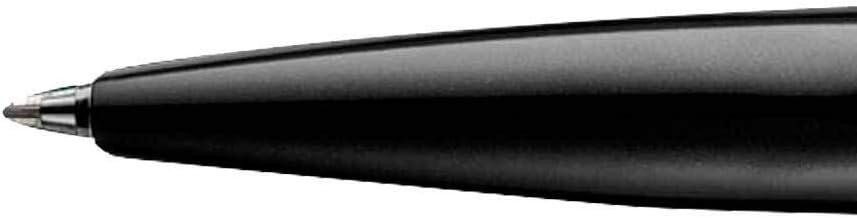 Bol/ígrafo Inoxcrom B77 Guilloche cuerpo met/álico cromado en Negro con estuche Original E-Window