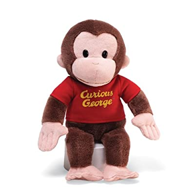 Gund Curious George Red Shirt 12 Plush from Gund