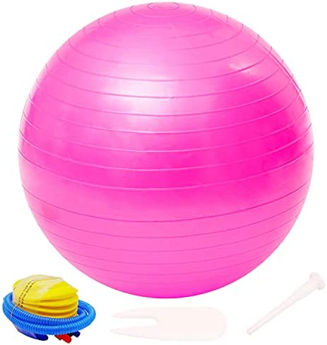 Yoga Ball 3Pcs 9-10 inches Explosion-Proof Skid Resistant Small Pilates Ball