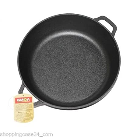 28 cm BIOL Cast Iron Frying Pan//Skillet 26 28 cm