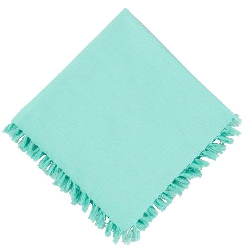 UPC 028332533737, Fiesta Fringed Napkin One Size Turquoise