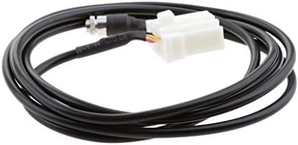 AUXオーディオ 入力メスアダプタ ケーブル マツダ2 3 5 6 MX5 RX8対応 3.5mm ケーブル