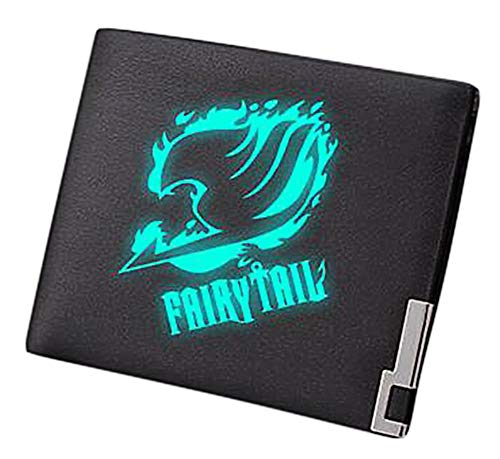 Gumstyle Fairy Tail Anime Luminous Artificial Leather Wallet Billfold Money Clip Bifold Card Holder 3