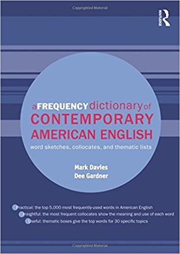 A Frequency Dictionary of Contemporary American English Routledge ...