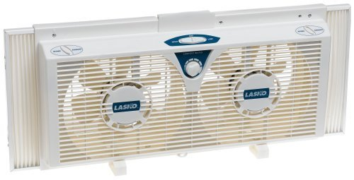 Fan Window Twin 2-Speed 8in Lasko
