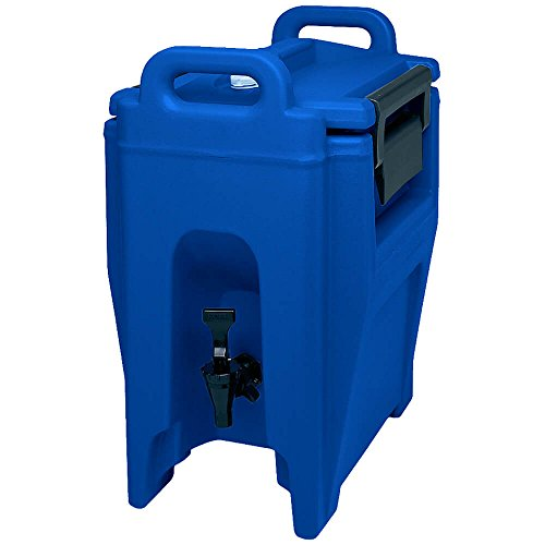 Cambro 2.75 Gal. Insulated Beverage Dispenser, Ultra Camtainer Navy Blue ()