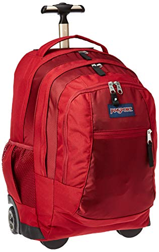 JanSport Driver 8 Core Seried Wheeled Backpack, Viking Red