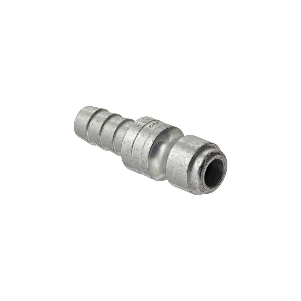 Dixon Valve DCP544 Steel Air Chief Automotive Interchange Air Fitting, Quick Connect Plug, 3/8 Coupling x 3/8 Hose ID Barbed, 70 CFM Flow Rating