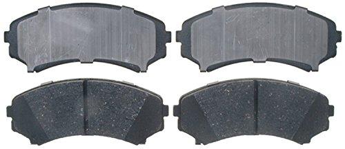 ACDelco 17D867C Professional Ceramic Front Disc Brake Pad Set (Mitsubishi Metal Front Brake Pad)