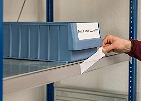 Selbstklebende Etikettenhalter f/ür Einstecketiketten 500 mm Breit//Tickethalter//Etiketten Halter 18 mm H/öhe, Transparent, 10 St/ück